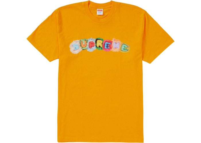 Supreme Pillows Tee Bright Orange
