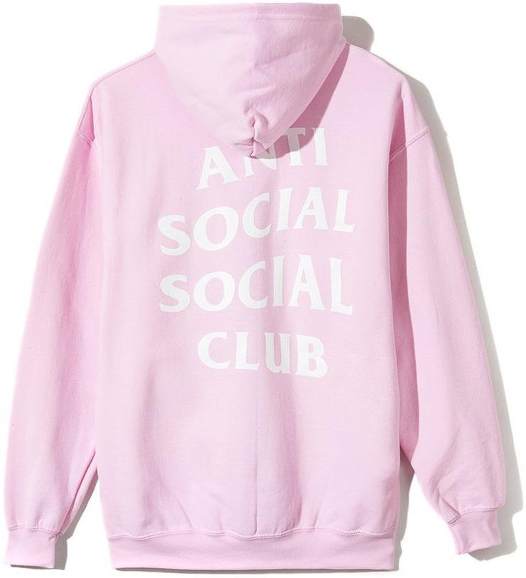 ANTI SOCIAL SOCIAL CLUB - KNOW YOU BETTER HOODIE (PINK)