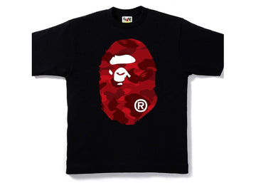 Bape tee Big Head Red camo
