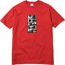 Supreme Guts Tee Red