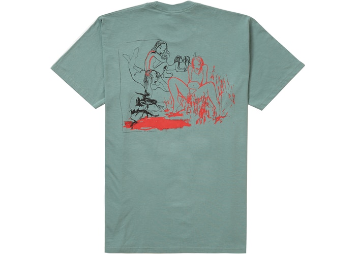Supreme Heroines Tee Dusty Teal