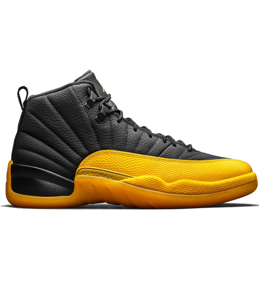 Jordan 12 Retro Black University Gold (GS)