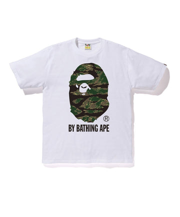 BAPE Tiger Camo By Bathing Ape Tee White