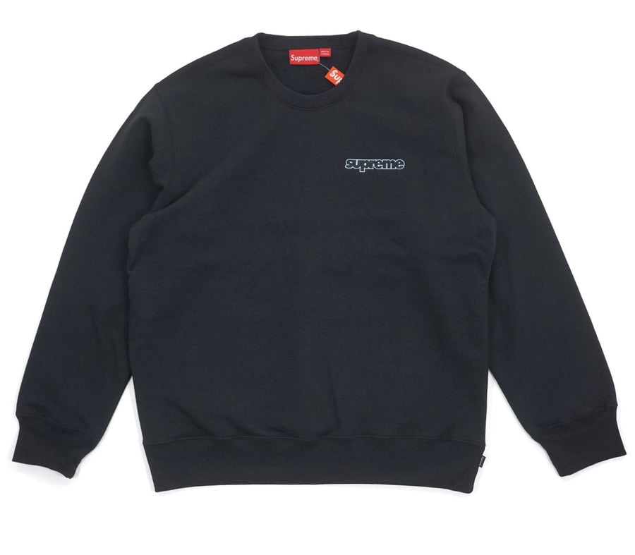 Supreme Connect Crewneck Sweatshirt Black