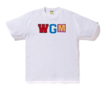 Bape WGM Shark Tee White