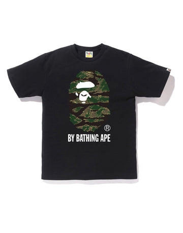 BAPE Tiger Camo By Bathing Ape Tee Black