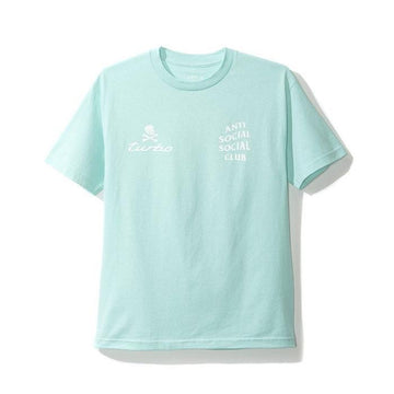 Anti Social Social Club x Neighbourhood 911 Turbo Tee Blue