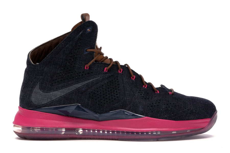 LeBron X EXT Denim