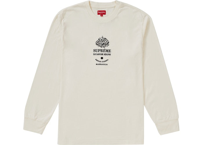 Supreme Marrakech L/S Top Natural
