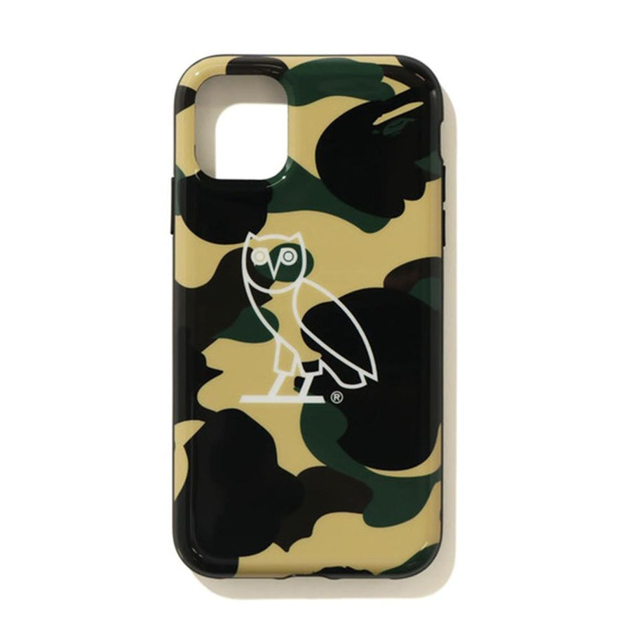 BAPE x OVO 1st Camo Iphone 11 Pro case Yellow