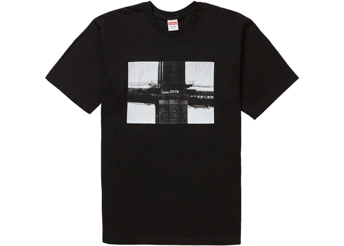 Supreme Bridge Tee Black