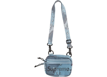 Supreme Small Shoulder Bag (SS20) Blue Chocolate Chip Camo