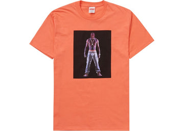 Supreme Tupac Hologram Tee Neon Orange