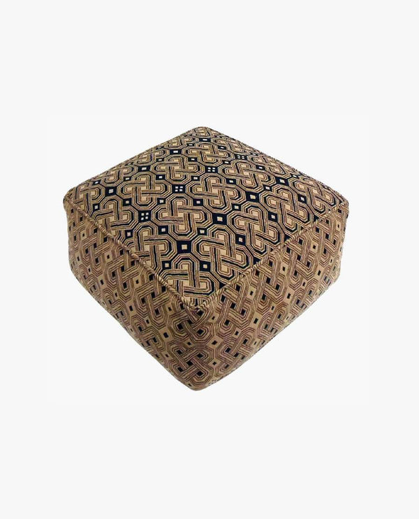 Crocheted/Knitted Ottoman Pouf
