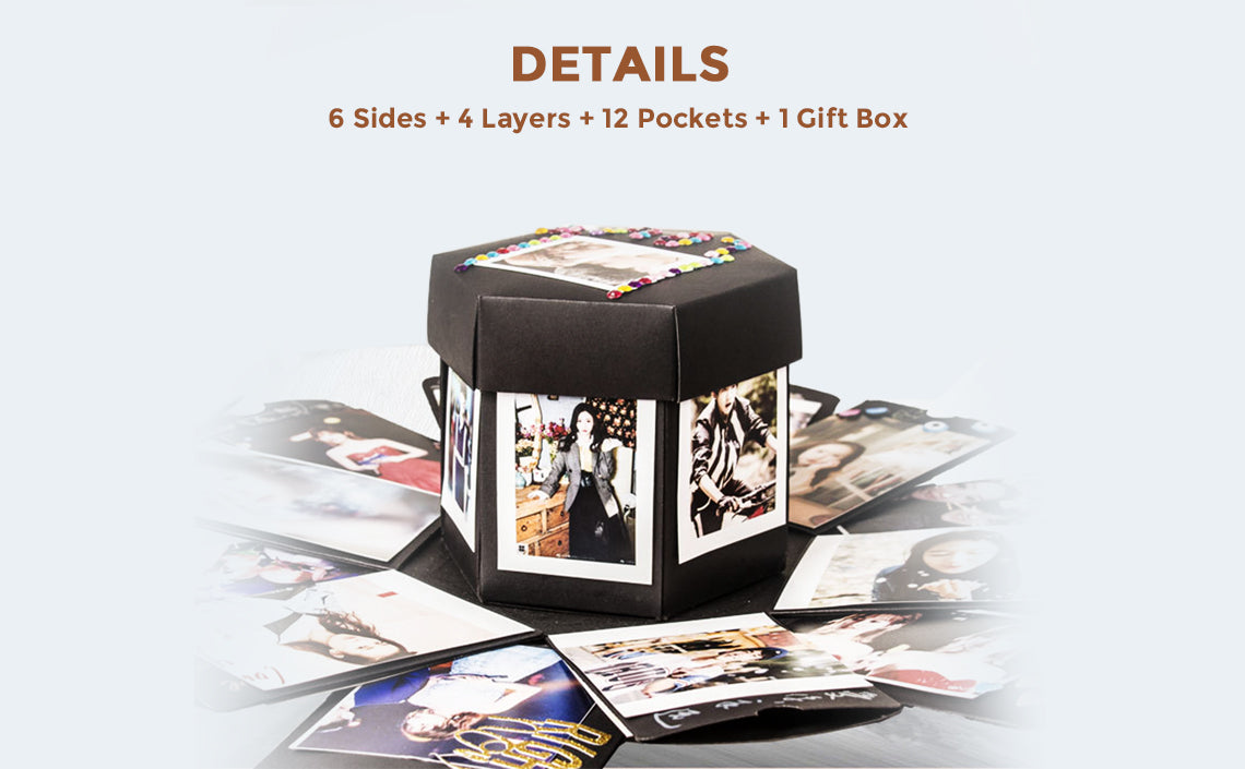Creative Surprise Explosion Box DIY Photo Album Gift