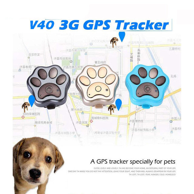 Waterproof Pet GPS + 3G GSM Global Locator
