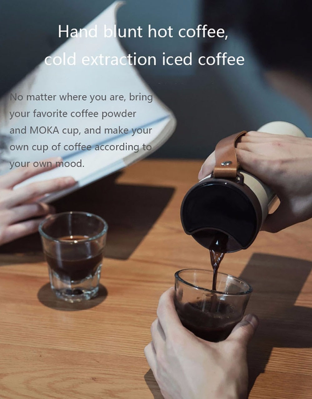 Xiaomi KissKissFish MOKA Smart Coffee Cup with OLED Display 430ml