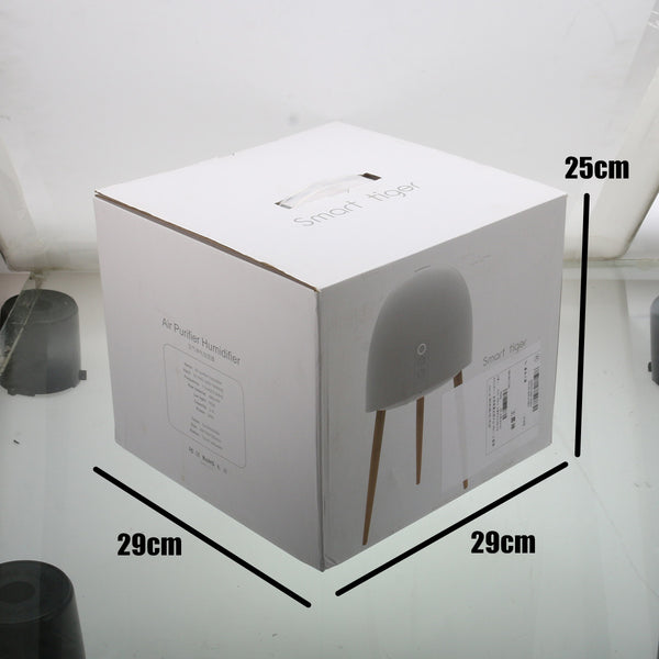2.5L Large Capacity Wooden Base LED Night Light Air Purifier Humidifier - Loviver.com