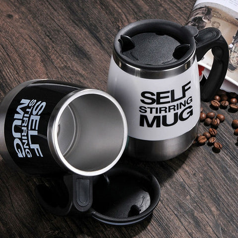 Double Insulated Self Stirring Automatic Mug Coffee 400ML