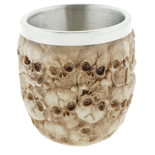 Viking Multi Skull Heads Beer Mug