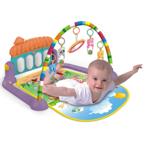 Multi-functional Piano Fitness Rack Play Gym Activity Mat for Infants & Baby