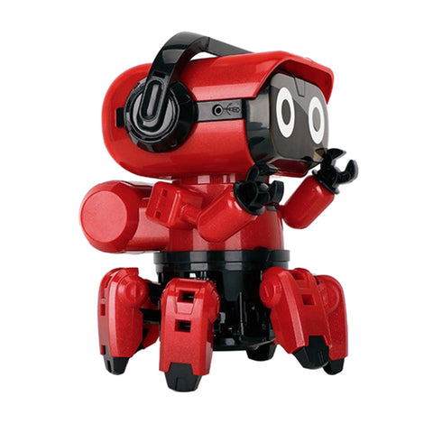 DIY Assembly Electric Intelligent Infrared Induction Robot Toy Kids Toys