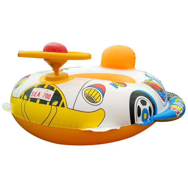 Swimming Ring For Kids Baby With Steering Wheel