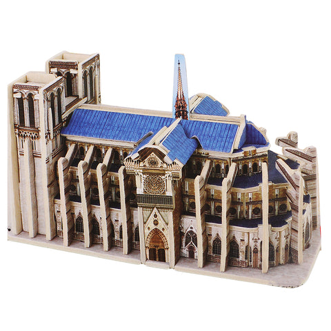 3D Wooden Notre Dame de Paris Jigsaw Puzzle Architecture Toy