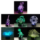 3D Cartoon Kids Bedside Night Lights - Loviver.com