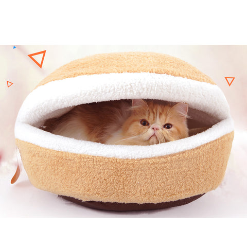 Pet Hamburger Sleeping Bag - Loviver.com