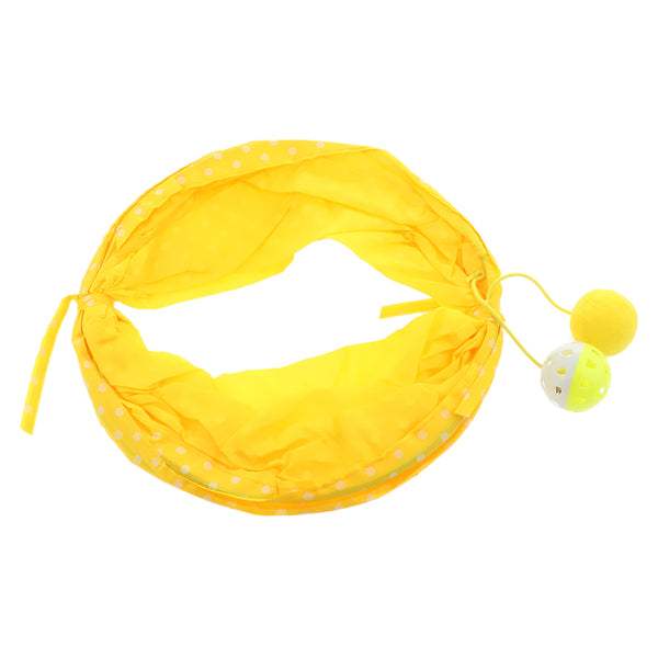 Cat Kitty Collapsible Tunnel Toy