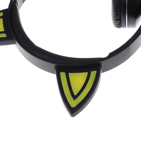 Bluetooth Headphone Over Ear, Hi-Fi Stereo Wireless Headset, Foldable Yellow