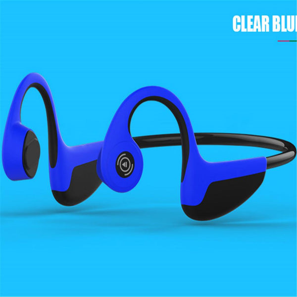Bluetooth Headset Movement Double Ears Wireless Bluetooth Headphone black