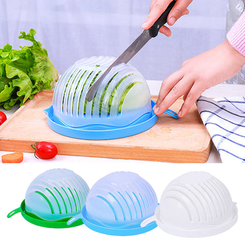 60 Second Salad Maker - Salad Cutter Bowl - Loviver.com