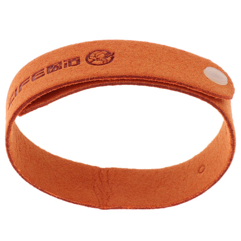 Anti Mosquito Bug Repellent Wrist Band Bracelet Insect Bangle Lock Orange
