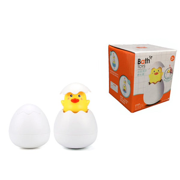 Baby Bathing Toy Duck Penguin Egg Toy