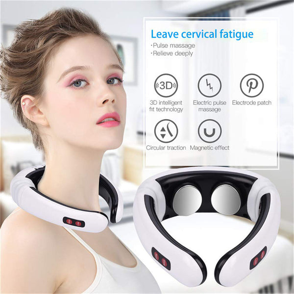 Smart EMS Electric Pulse Neck Treatment Massager