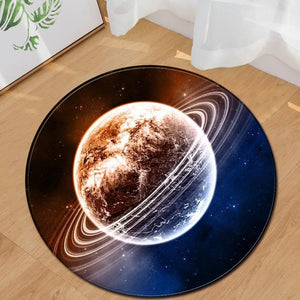 3D Planet Polyester Rugs 60cm