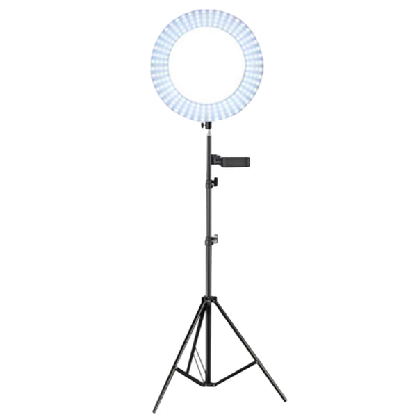 Adjustable 14in LED Ring Light Video Photography Camera Fill Lamp Stand