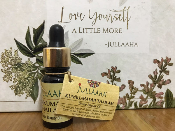 Kumkumadhi Thailam - Divine Beauty Oil - Jullaaha Boutique