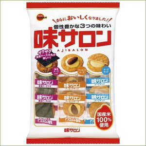 Bourbon Aji Salon Rice Crackers 52G - Snacks