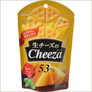 Glico Cheeza Cheese 53% 40G 53% - Snacks