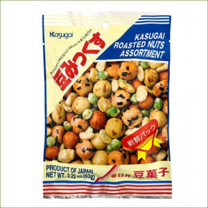 Kasugai Roasted Mame Mix (Mix Nuts) 70G - Snacks