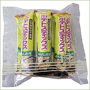 Nippoh Potato Stick Nori Shio (Seaweed) 50G (10Pc X 5G) - Snacks