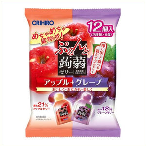Orihiro Konjac Jelly Apple & Grape 240G - Snacks
