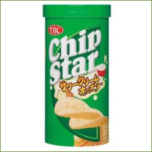 Ybc Japanese Chip Star Sour Cream Onion Flavor 50G - Snacks