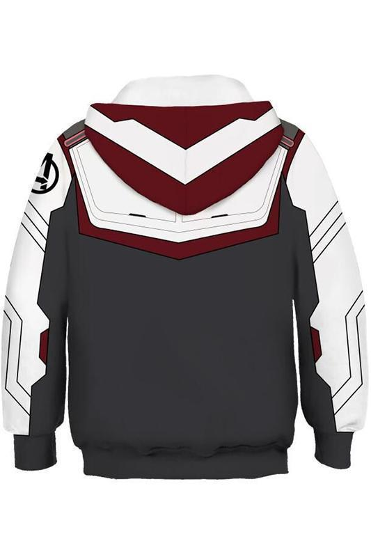 8df06e73f1e ... 2019 New Hoodie Unisex Avengers 4 Endgame Quantum Realm Sweatshirt  Jacket Advanced Tech Hoodie For Kids