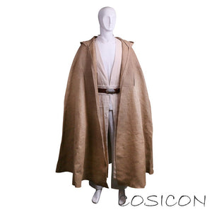 Star Wars The Last Jedi Luke Skywalker Cosplay Costume Full Set Clearance sale