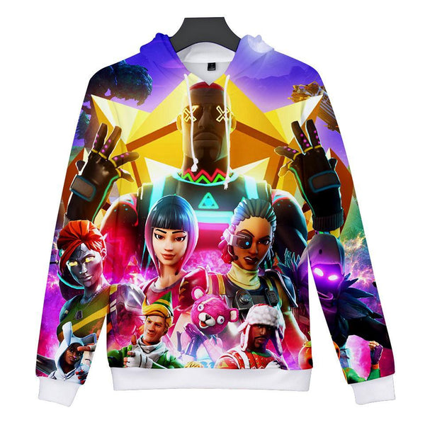 Game Fortnite Royale Battle Cosplay Sweater