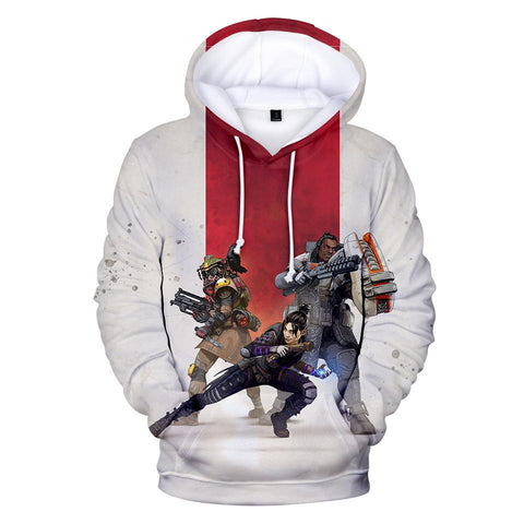 Apex Legends 3D Hoodies Men Women Harajuku Sweatshirts New Print Apex Legends 3D Hoodies Men Casual Sweatshirts